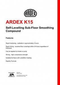Ardex K15-1