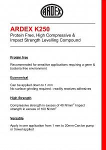 Ardex K250-1